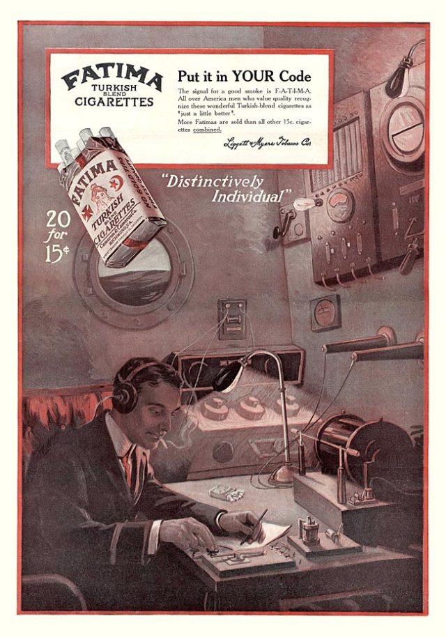 Fatima Cigarettes -1913A