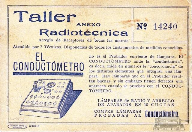 (Colección Horacio A. Nigro Geolkiewsky, LGdS)