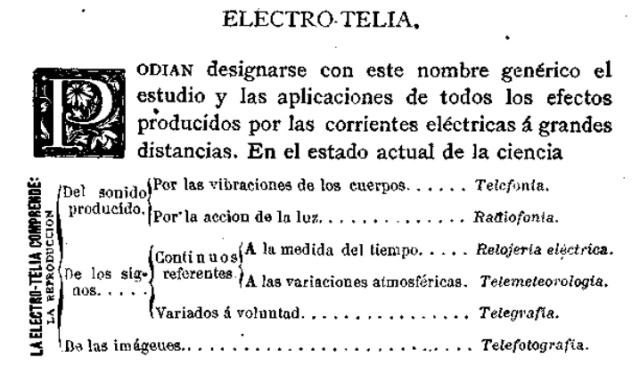 electrotelia